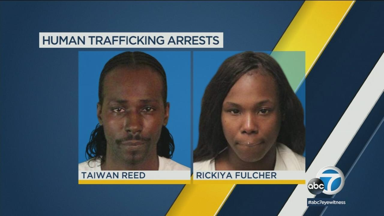 Riverside police arrested a man and a woman last weekend following a report from their alleged victim.