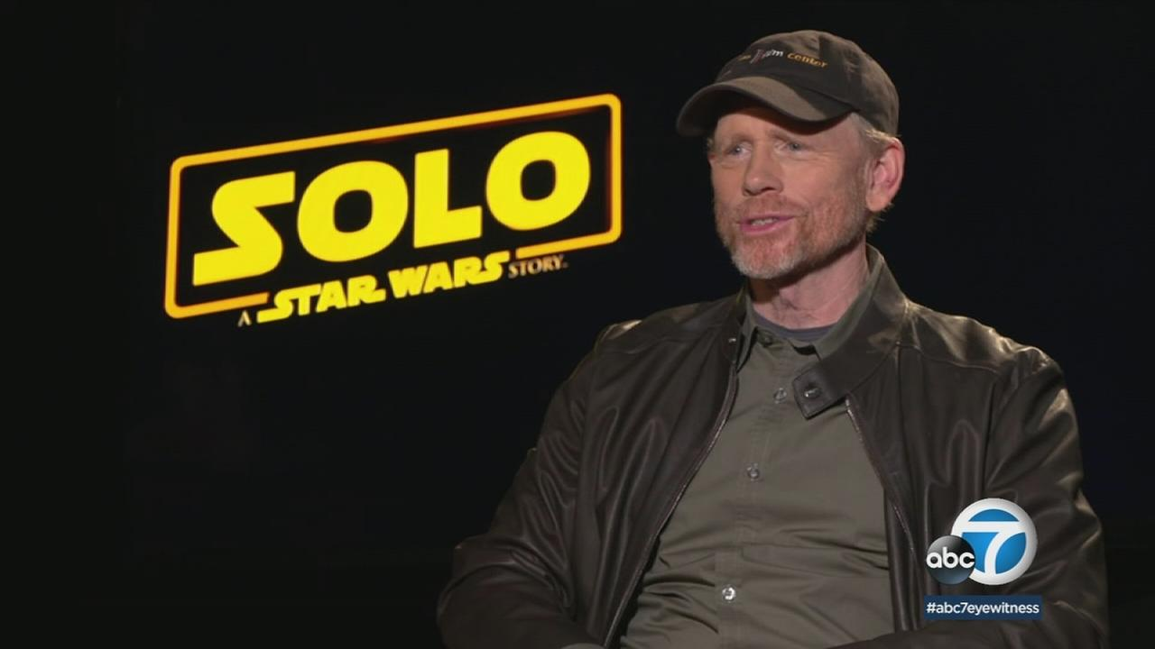 Ron Howard talks about directing the latest film in the Star Wars franchise, Solo: A Star Wars Story.
