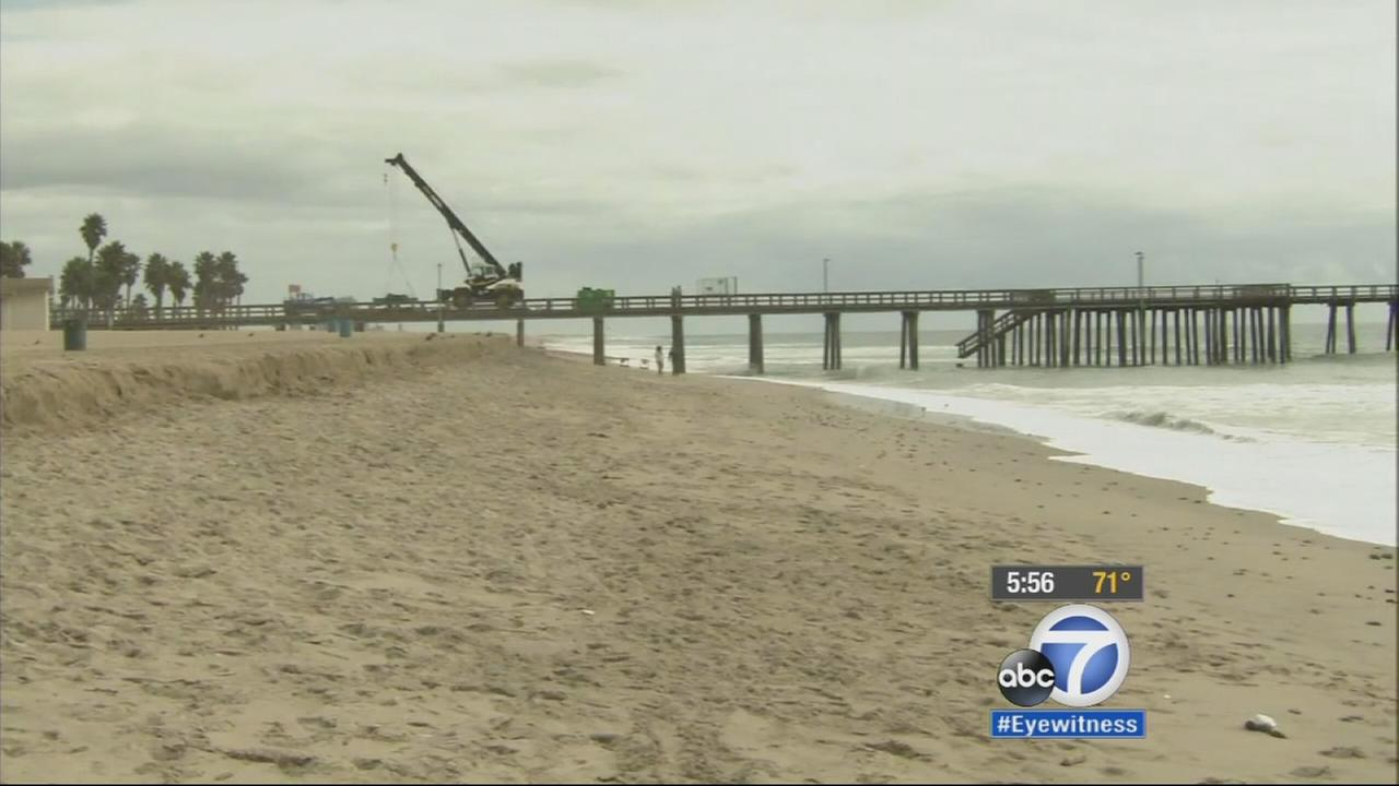 Port Hueneme Beach Erosion Federal Government Stepping In To Help Abc7
