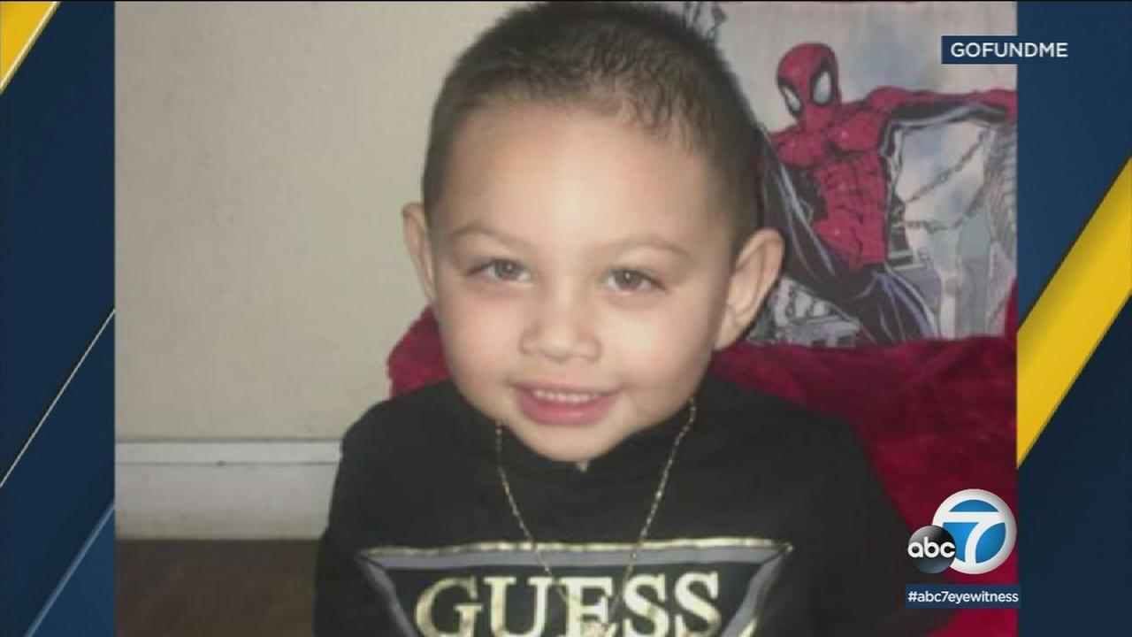 Eidan Cortez, 2, is shown in an undated photo.