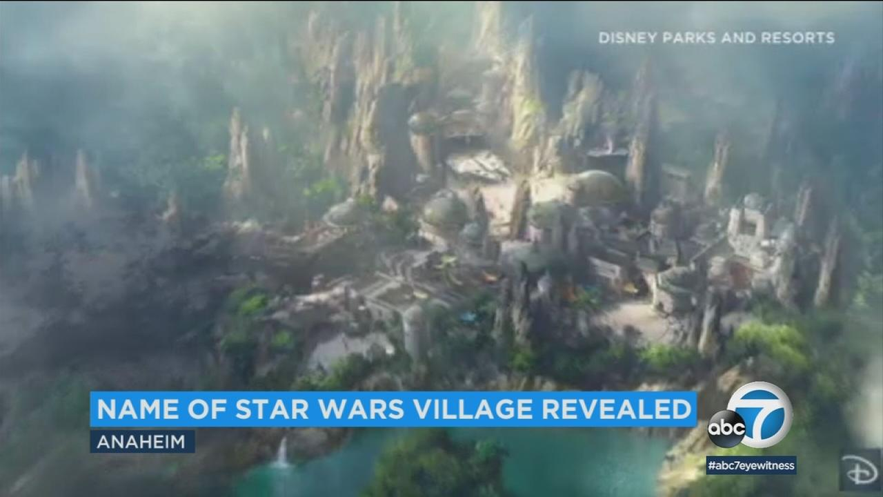 We now know the name of the village that guests will walk through as they enter the new Star Wars land.