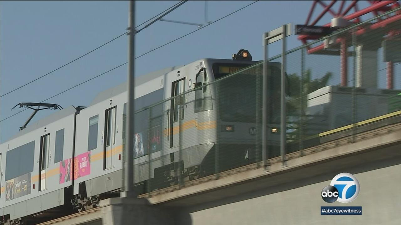 Metro crews are making progress extending the Green Line to new areas in Southern California, but the future of the project could be in jeopardy.