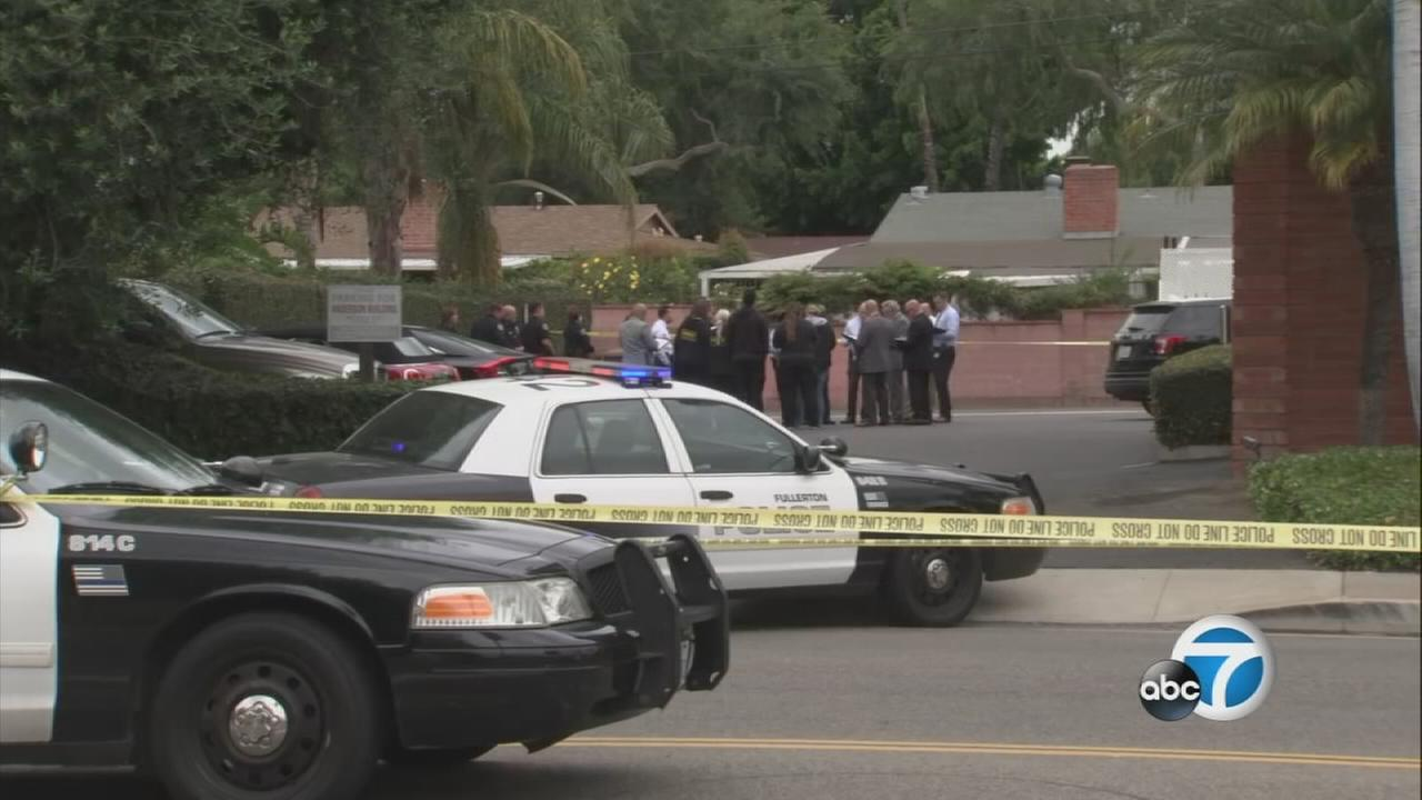 A woman who was shot and killed by police in Fullerton after she allegedly stabbed her therapist has been identified.