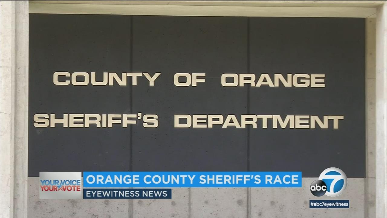 Three men are vying to replace Orange County sheriff Sandra Hutchens to lead the fifth largest sheriffs department in the country.