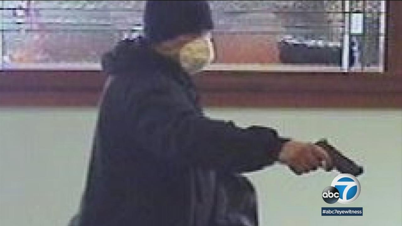 Two Huntington Beach banks have been the target of the same armed robbery suspect within the past month.