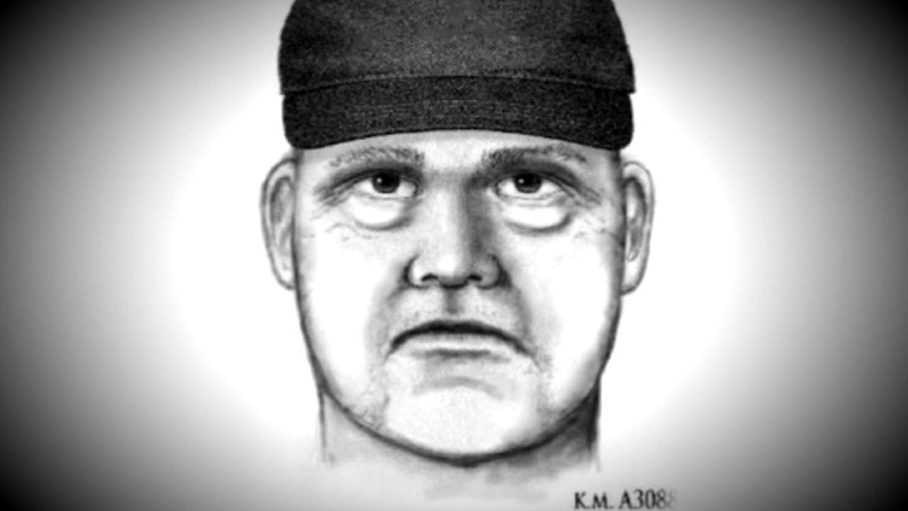 A sketch of a suspect accused of killing at least four people in Scottsdale, Arizona.