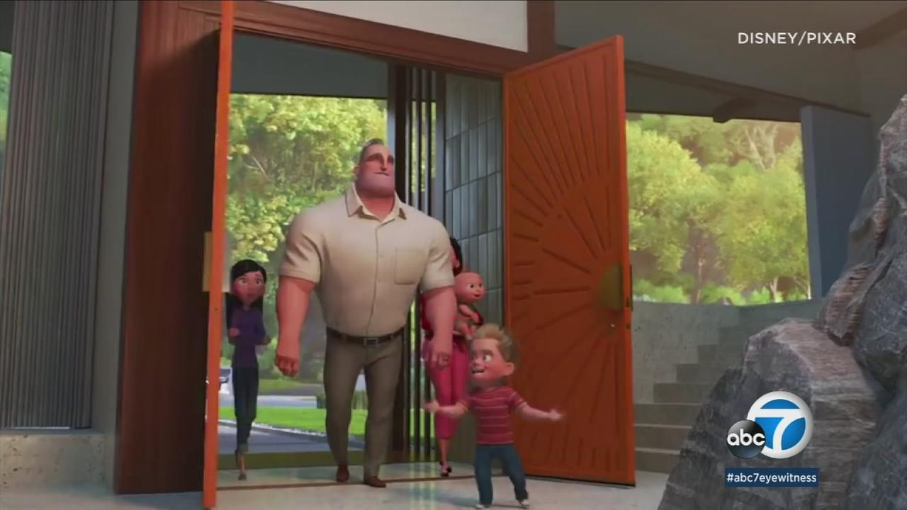 The cast of Incredibles 2 hit the red carpet Tuesday in Hollywood to reunite the animated family for another adventure.