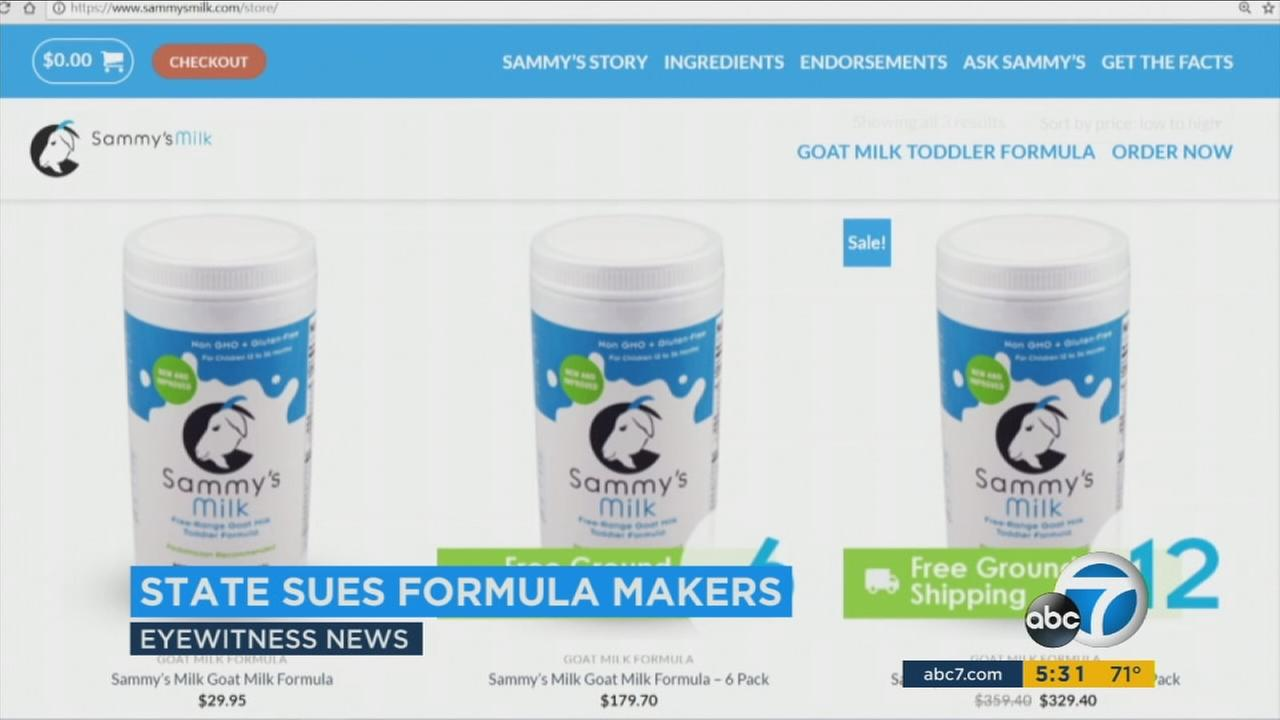 Sammys Milk products are seen on the companys website.