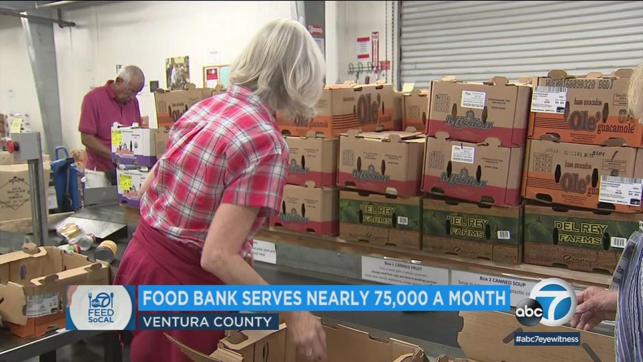 The Food Share regional food bank in Ventura County serves nearly 75,000 people per month, helping those who are food insecure.
