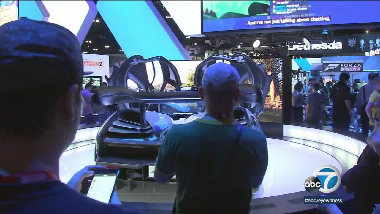 For video game fans, theres no better place to be than E3, where thousands gather in downtown Los Angeles for the epic expo.