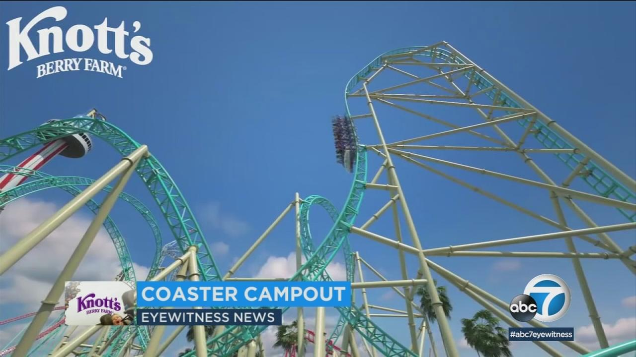 The Coaster Campout will include a campsite for up to four people inside the amusement park, among other perks.