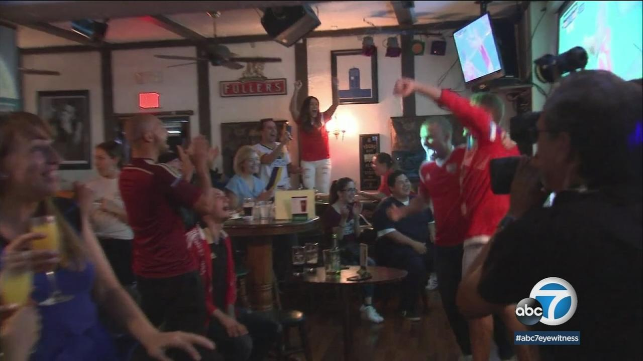 World Cup fever has taken over Los Angeles, and soccer fans from around the world are waking up bright and early to catch the tournaments games.