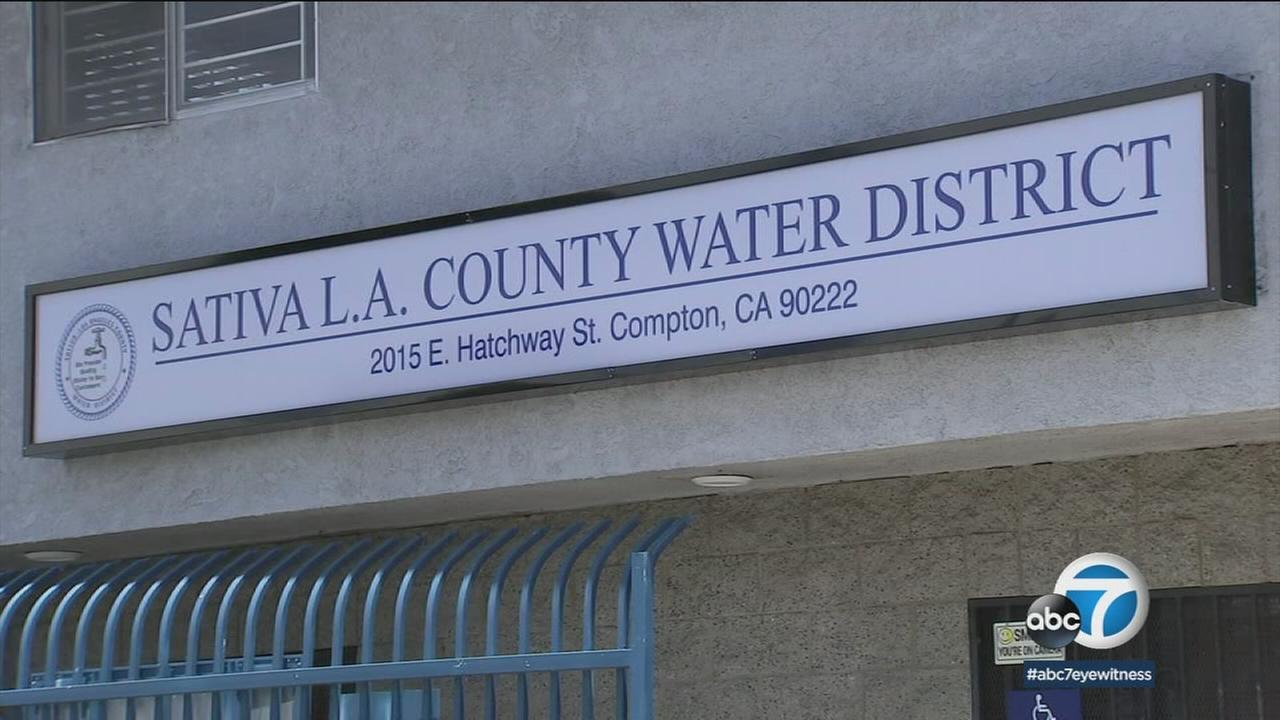 As residents of Compton and Willowbrook deal with brown tap water, an effort is underway to replace the Sativa Water District.