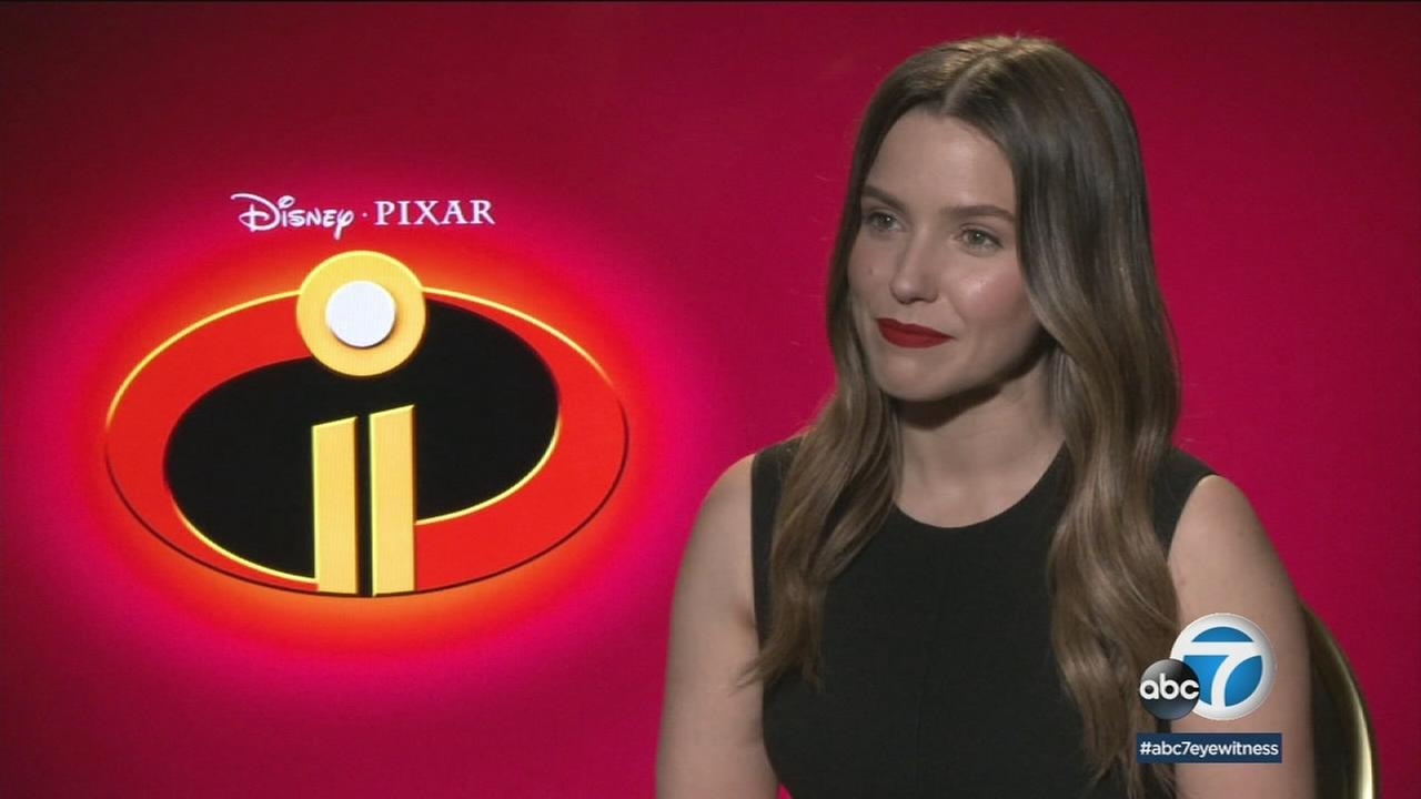 Sophia Bush is a big fan of the original Incredibles and is now the new voice of the budding superhero, Voyd, in the sequel.