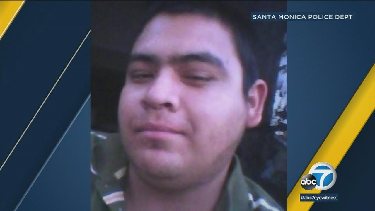 Josue Rosales, 30, was last seen Thursday on the beach near the Santa Monica pier.