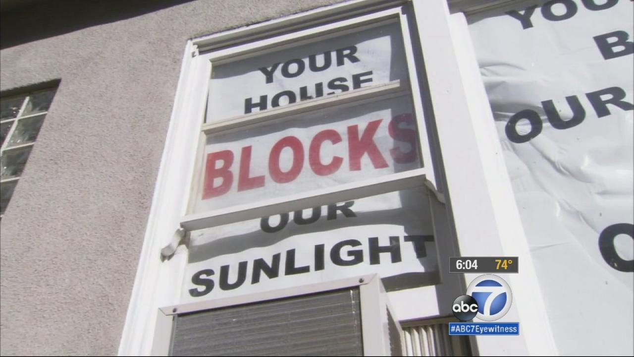 Its a battle over the so-called mansionization of Los Angeles Beverlywood neighborhood.