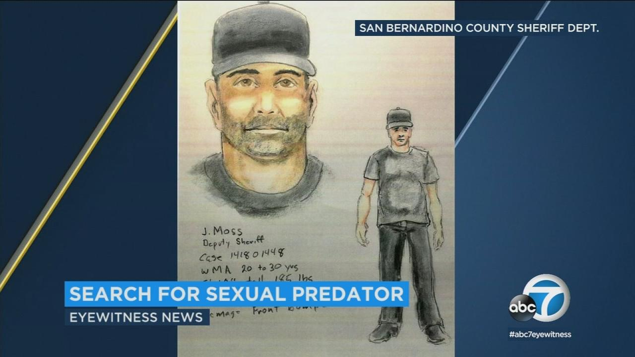 Police say the man depicted in this sketch exposed himself to at last one girl in the Yucaipa-Beaumont area last month before approaching a second girl with inappropriate comments.