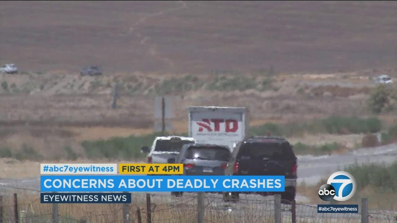 Amid increasing concern over accidents on the Inland Empires Ramona Expressway, state and local officials are studying ways to improve traffic safety.