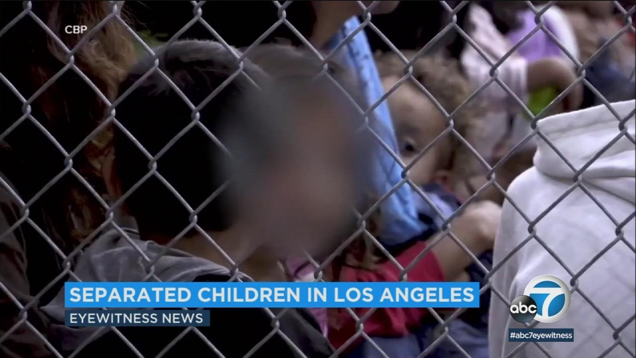 Among the roughly 2,300 children detained as a result of the Trump administrations zero-tolerance policy, about 100 of them under the age of 9 have been sent to SoCal shelters.