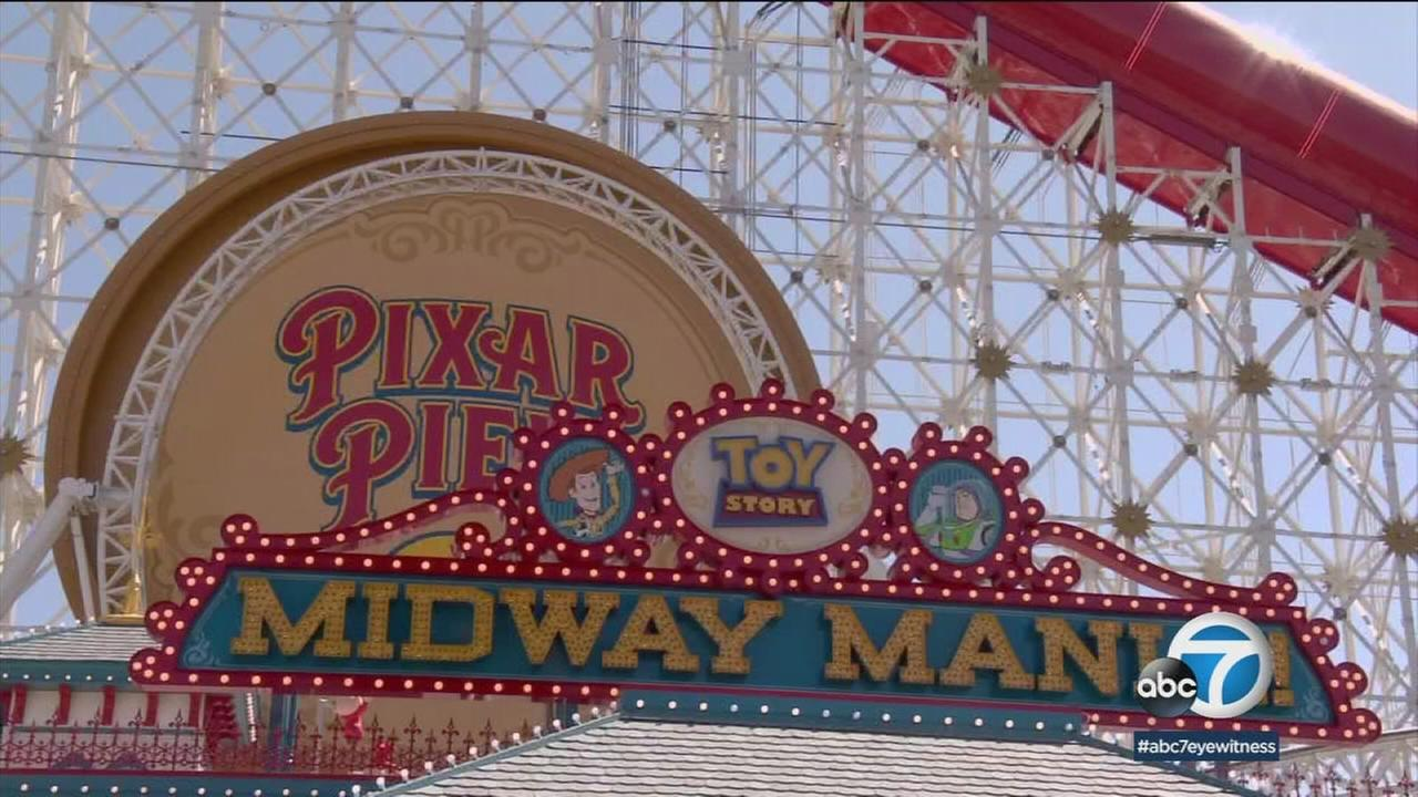 Disneylands California Adventure is opening the Pixar Pier this weekend, featuring the Incredicoaster.