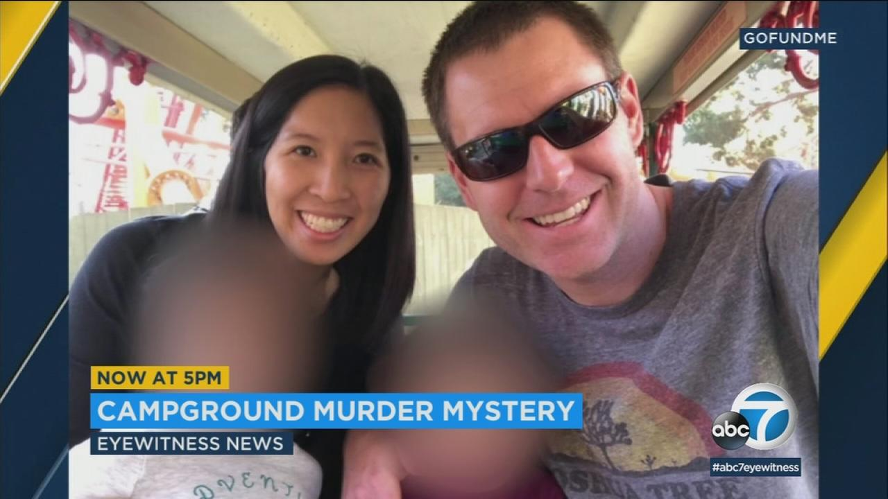 Tristan Beaudette, 35, of Irvine was camping with his two young daughters at Malibu Creek State Park when he was shot in the upper body.