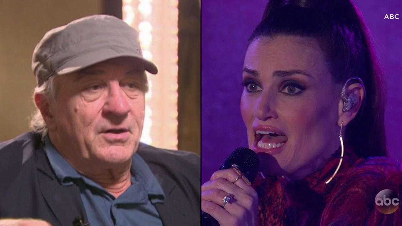 Robert De Niro and Idina Menzel are among dozens of stars selected for the Hollywood Walk of Fame in 2019.