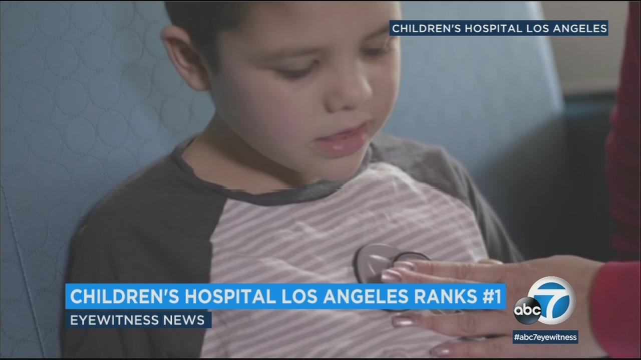 U.S. News and World Report named Childrens Hospital Los Angeles the top pediatric hospital in the western United States for a second consecutive year.