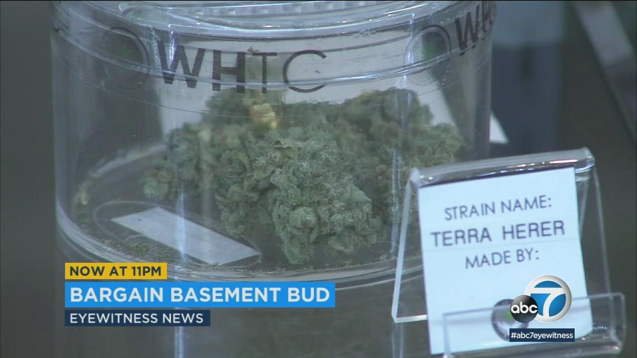 California pot users are seeing bargain basement prices ahead of strict, new testing rules.