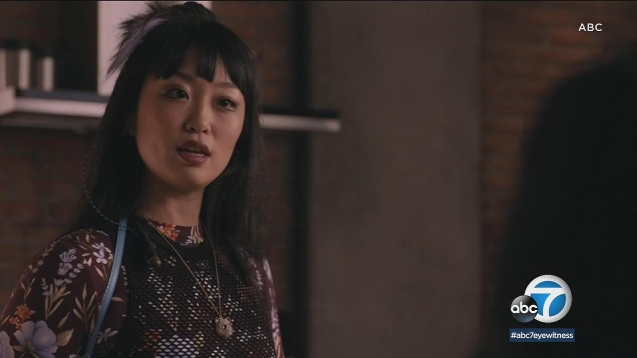 Alice Lee likes the fact that her character of Monica is unique in the world of television.
