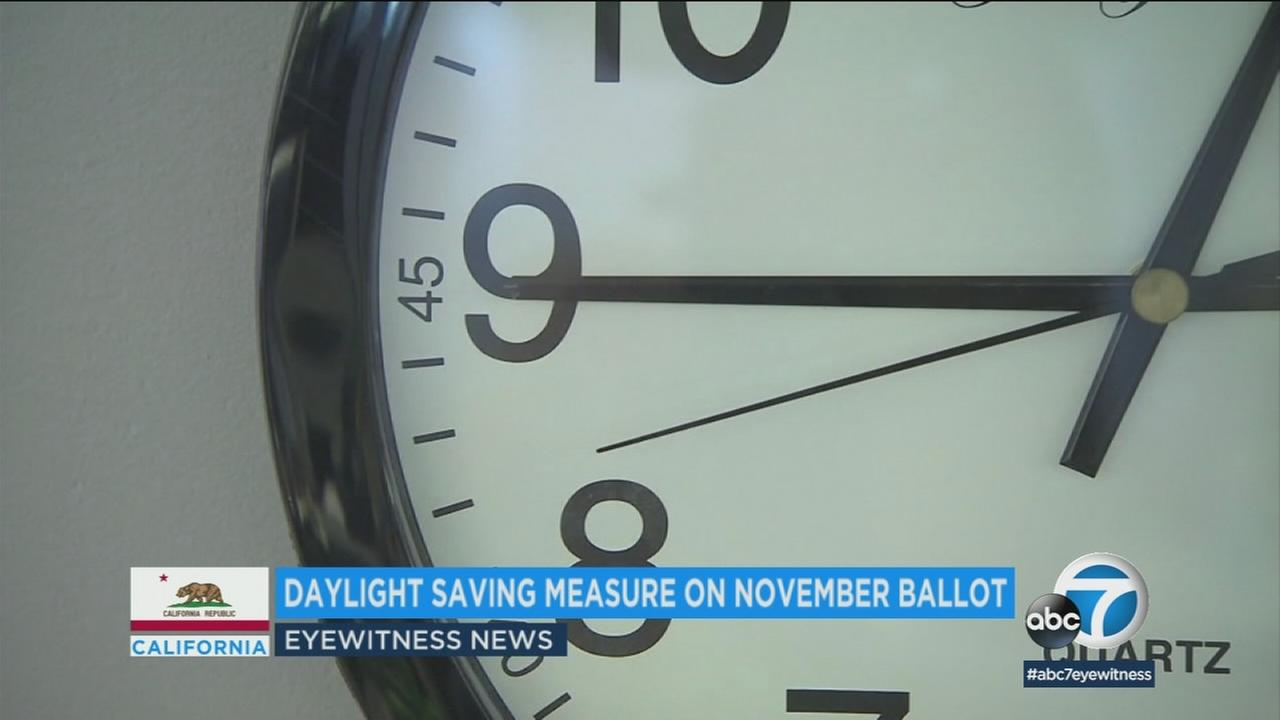 Gov. Jerry Brown has signed a bill that will let Californian voters decide in November whether or not to continue daylight saving time.
