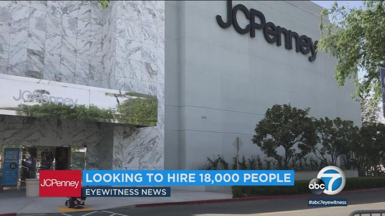 JCPenney is preparing for back-to-school season with a hiring spree, and looking to fill 350 positions in the Los Angeles area.
