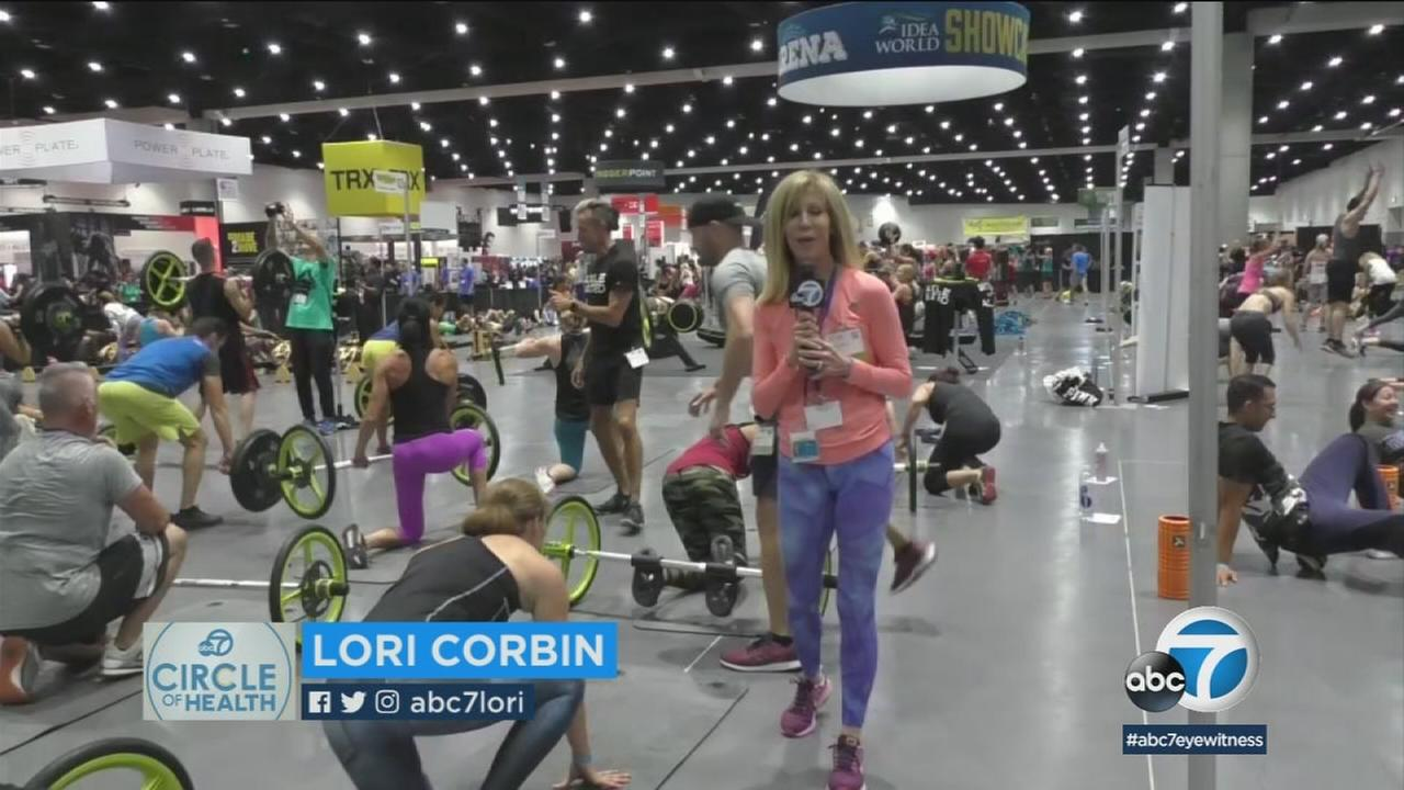 Thousands of fitness and health professionals flocked to San Diego this weekend for the IDEA World Convention to learn about latest industry trends and technology.