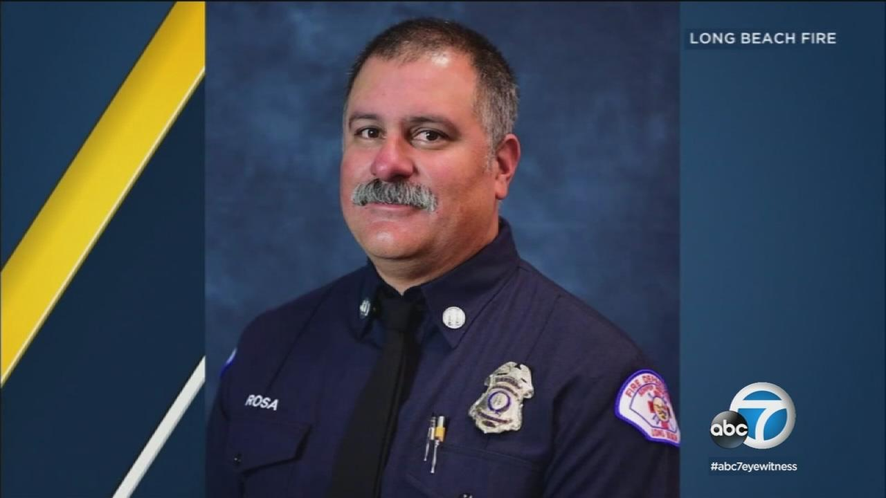 Long Beach fire Capt. David Rosa is being remembered by some of those who knew him best.