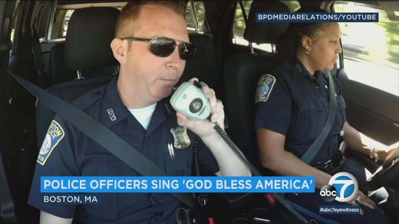 Longtime Boston Police Department officers Kim Tavares and Stephen McNulty each have amazing voices but never sang together until this summer.