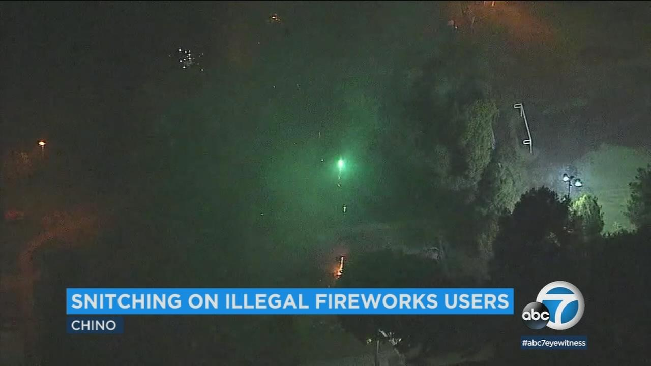 A new ordinance in Chino is encouraging residents to report illegal fireworks.