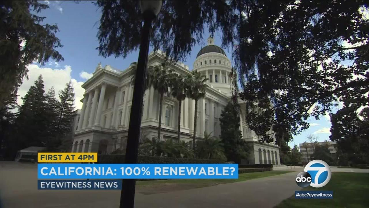 California lawmakers revived a long-delayed proposal for the state to generate 100 percent of its energy from carbon-free sources by 2045.