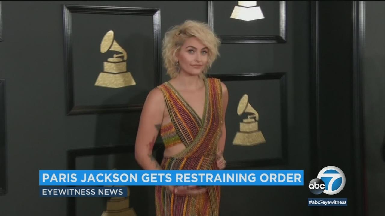 Paris Jackson was granted a temporary restraining order against an alleged stalker, who she said waited for her outside her recording studio last month.