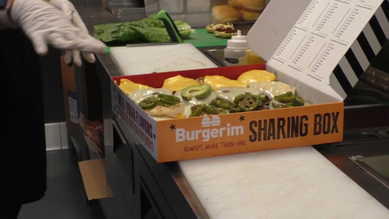 The Burgerim restaurant chain offers 2.8 ounce burgers to give patrons an opportunity to try different flavors.