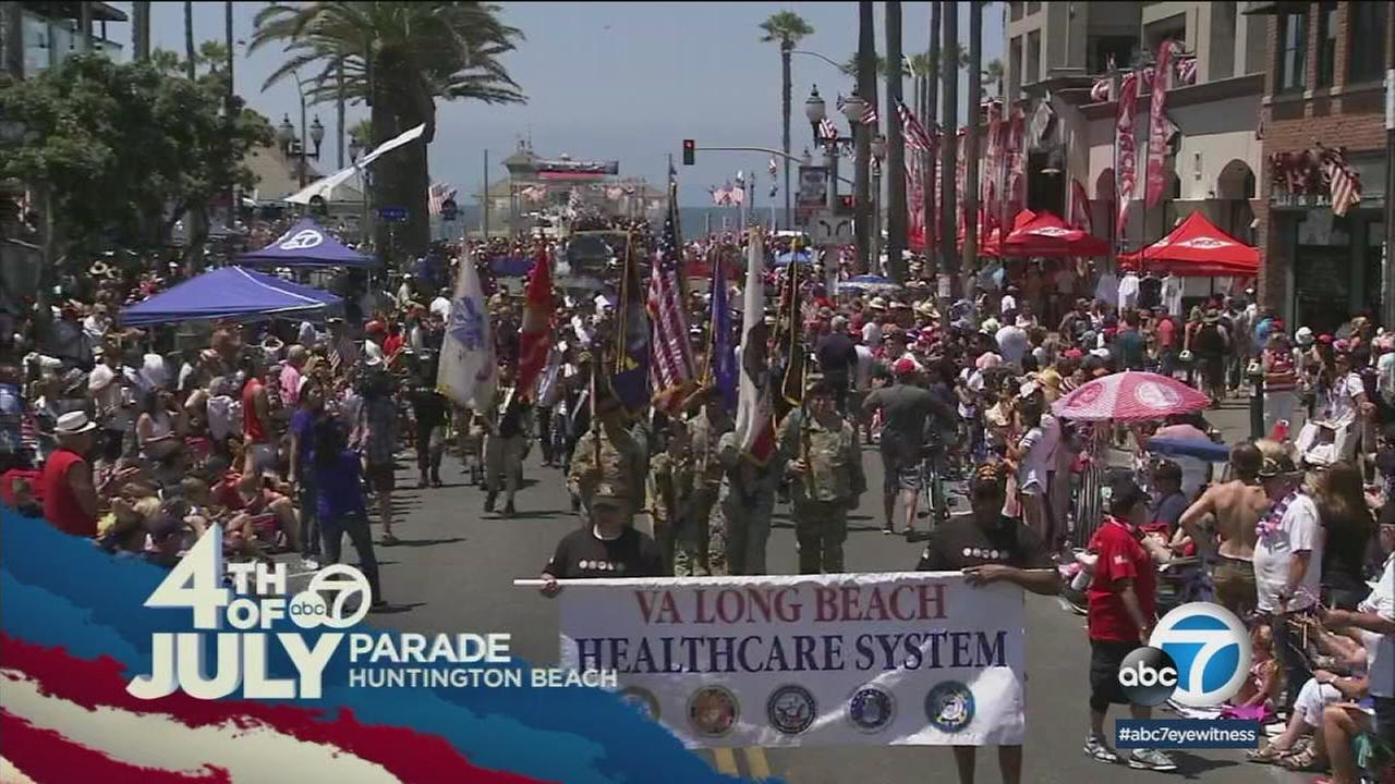ABC7 proudly broadcasted the 114th annual Huntington Beach Fourth of July Parade on Wednesday.