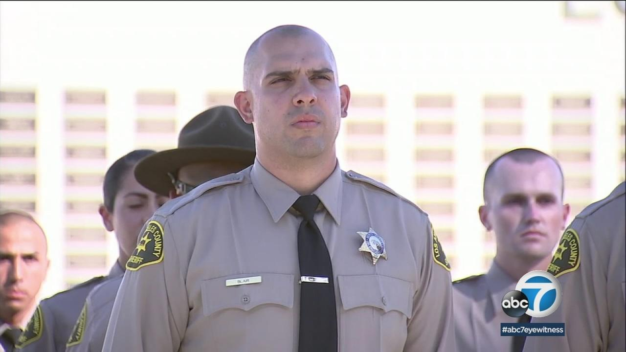 Twenty-three years after his father was killed in the line of duty, Joseph Blair has become a Los Angeles County sheriffs deputy himself.