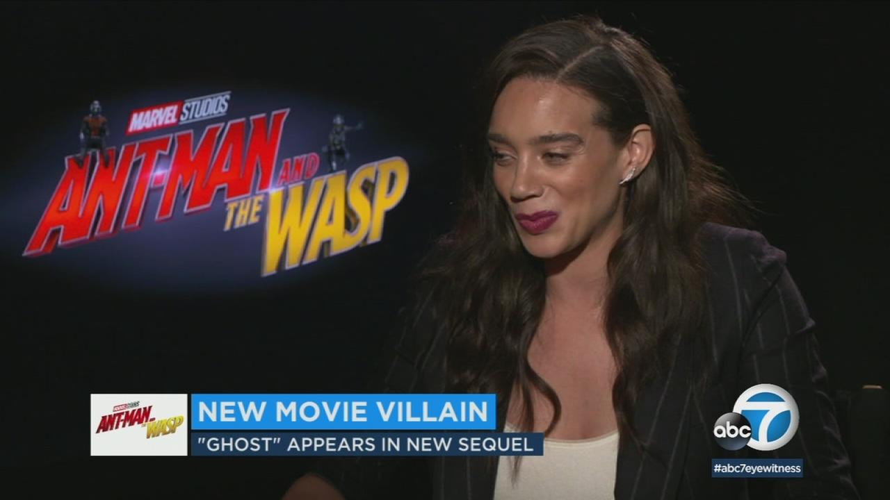 The 28-year-old Ant-Man and the Wasp star said she enjoys doing her own stunts and creating the physical aspects of characters.