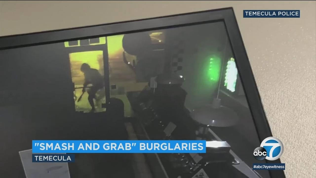 At least two suspects targeted Cold Stone Creamery and Urban Cafe Friday night or Saturday morning, but police believe other businesses were also burglarized.