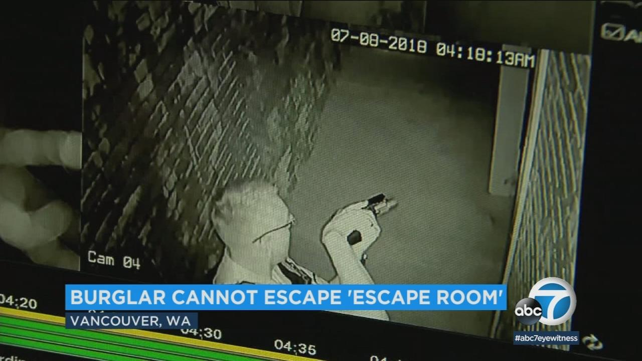 A burglary suspect in Washington broke into an escape room, but was arrested when he called police because he couldnt break out.