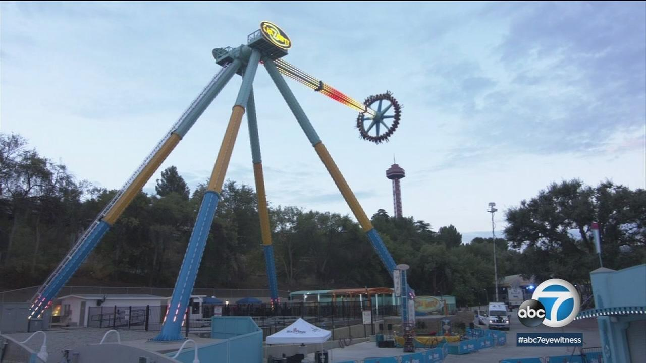 Six Flags is ready to debut what it says is the worlds tallest and fastest pendulum ride, CraZanity.