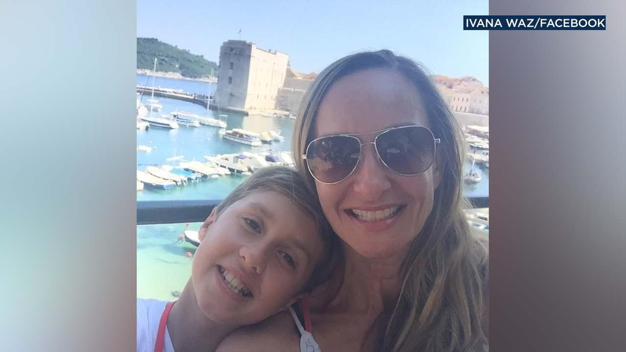 Ivana and Makani Waz are seen in a photo from Facebook.