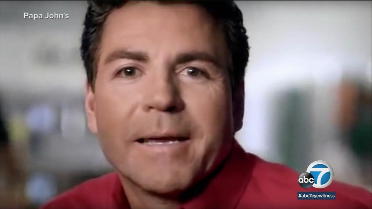 Papa Johns plans to pull founder John Schnatters image from marketing materials after he admitted using a racial slur.