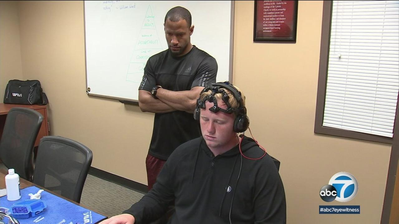 JSerra Catholic High School in San Juan Capistrano will begin using a new brain scanning technology to test for concussions.
