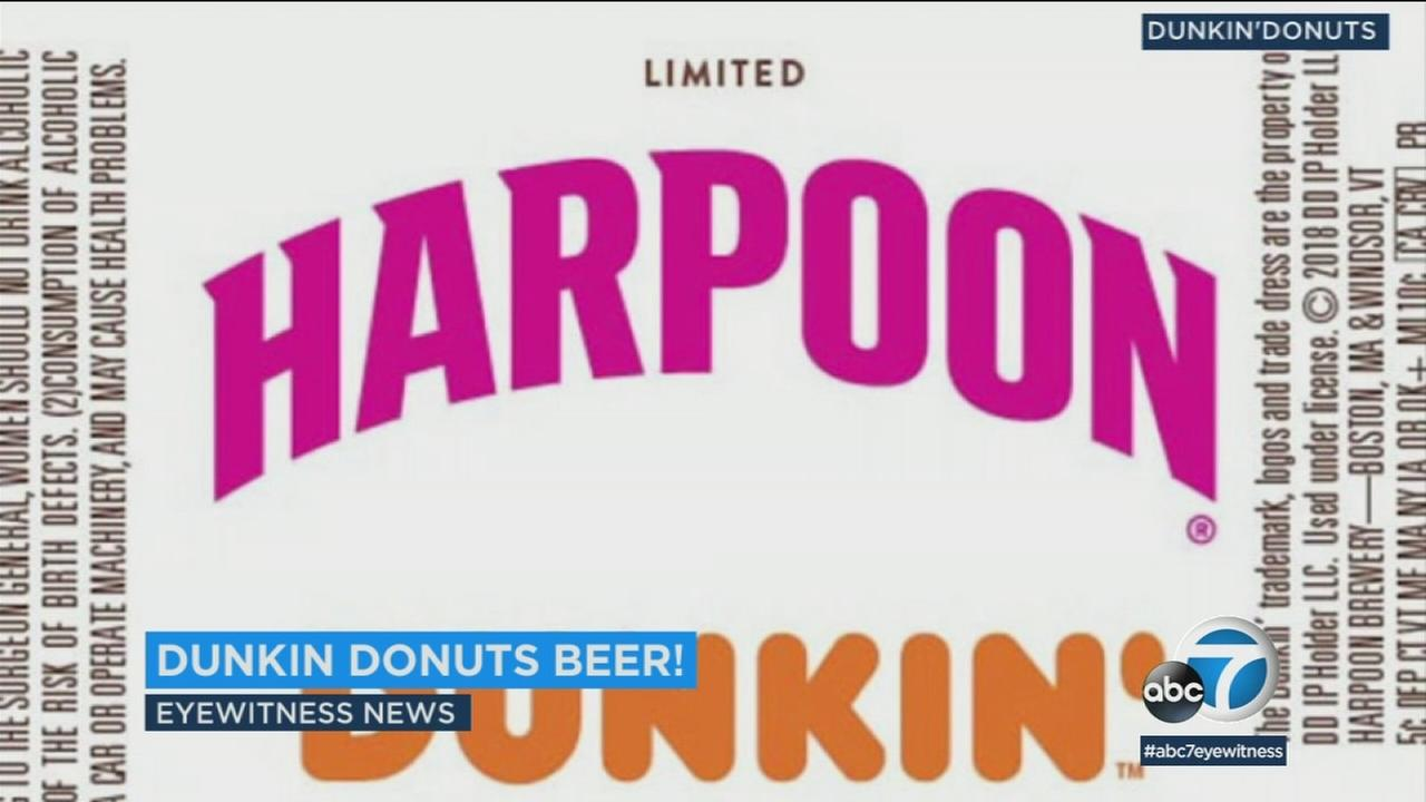Dunkin Donuts is partnering with Harpoon Brewery to release a coffee-based beer.