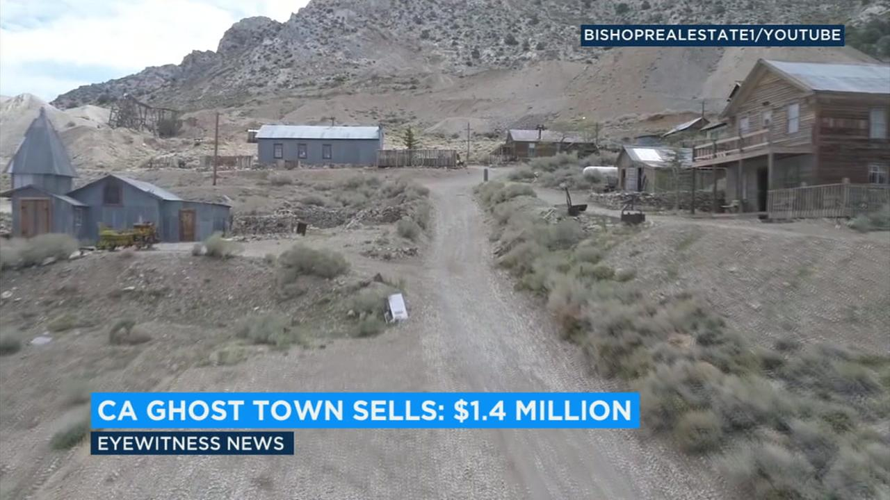 Cheap property in California is hard to come by, but for a cool $1.4 million someone purchased an entire ghost town in the Owens Valley.