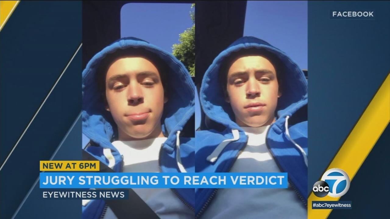 Jurors are deliberating the fate of Cameron Terrell, a Rancho Palos Verdes teen accused of participating in a gang murder.